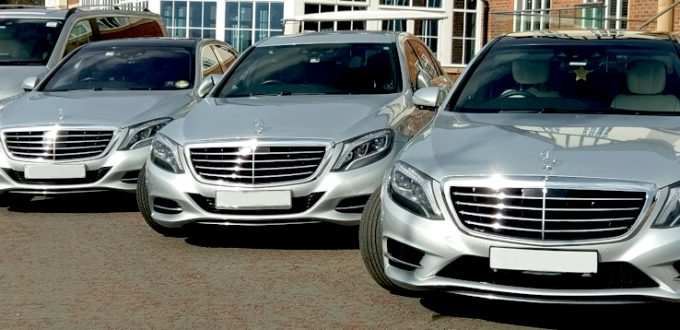 Fleet of VIP Chauffeur Vehicles at Carden Park