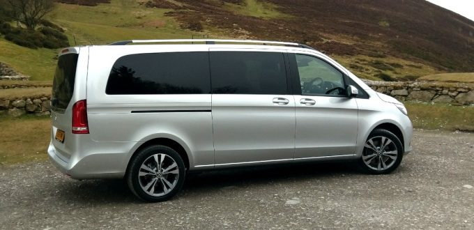 Image of Mercedes V Class in North Wales