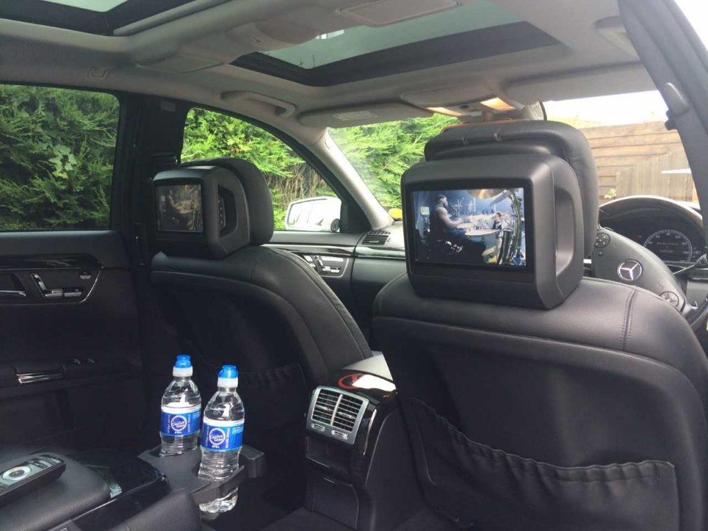 Picture of the Mercedes S Class interior in Chester