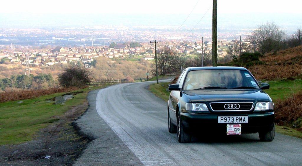 Audi A6 at Minera