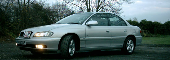 Picture of Vauxhall Omega B as executive taxi