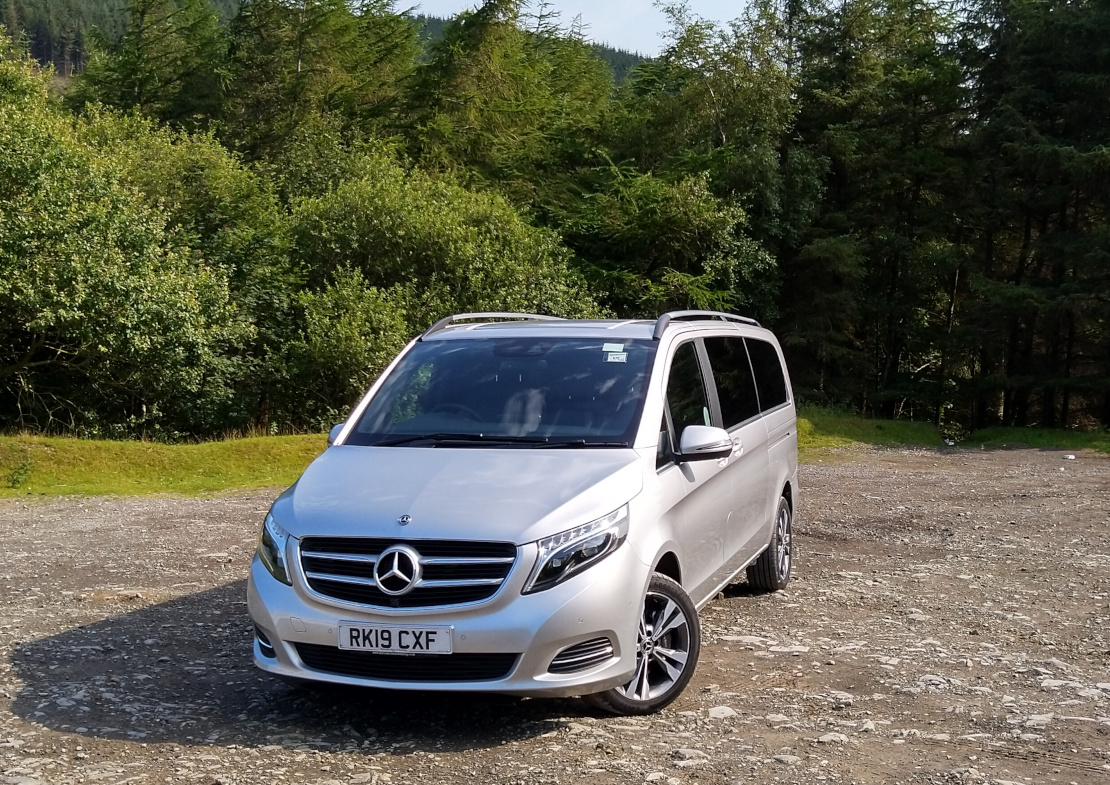View of 2019 Mercedes V Class