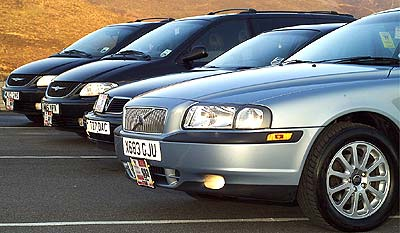 DrivenByQ first fleet, pictured fifteen years ago