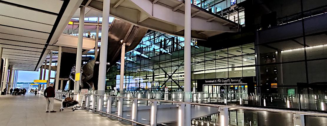 London Heathrow Terminal 2 Arrivals