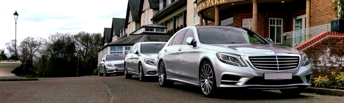 Three Mercedes S Class